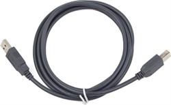 (1023872) Кабель USB 2.0 Pro Cablexpert, AM/BM, 1.8м, экран, серый - фото 33351