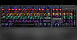 (1024494) Механическая клавиатура Reborn GK-165DL RU,anti-ghost,радужная DEFENDER - фото 33693