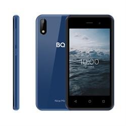 "(1024624) Смартфон BQ-4030G Nice Mini Синий SC7731E, 4, 1.3 GHZ, Android 10 Go, 1 GB, 16 GB, 2G GSM 850/900/1800/1900, 3G 3G WCDMA 900/2100MГц, WiFi IEEE 802.11 b/g/n, Bluetooth Версия 4.2, GPS GPS, A-GPS, Глонасс Экран: 3.97"", 5:3, 800*480, TN, стек - фото 33859"