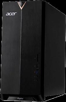 (1025010) ПК Acer Aspire TC-895 MT i3 10100/8Gb/SSD512Gb/GTX1650 4Gb/CR/W10/черный - фото 34098