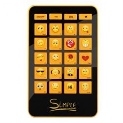 """(1110274) CBR Simple Клавиатура """"S12"""",  24 кл.(смайлы на цифровом блоке), USB, S12 - фото 4484"""