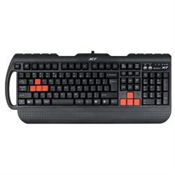 (m82087) Клавиатура A4 X7-G700, PS/ 2, c подставкой для запястий, черный [g700 ps] - фото 4546