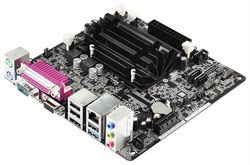 (1004468) Материнская плата Asrock D1800B-ITX Celeron 2xDDR3 mini-ITX AC`97 6ch(5.1) GbLAN+VGA+HDMI - фото 5279