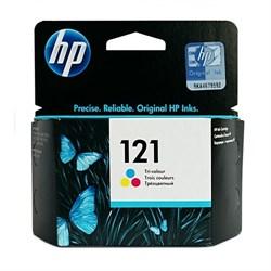 (71612) Картридж струйный HP 121 CC643HE многоцветный для F4283/D2563 - фото 5772