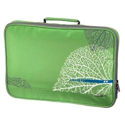 (3330827) Чехол с ручкой для ноутбука aha: VEIN, 15.6'' (40 см), зеленый, Hama [OhN]
