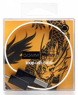 (1004189) Кабель GGMM Loop microUSB Dragon (DZ00435)