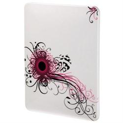 """(3330838) Футляр Swirly Pink для iPad, 9.7"""" (25 см), поликарбонат, белый с рисунком, Hama [OhN] - фото 7054"""