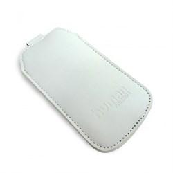 (1002780) Чехол Human Friends Business 5 White универсальный, подходит для Iphone 5\5S\5С\SE, кажзаменитель, ремешок-стропа, Business 5 White - фото 7501