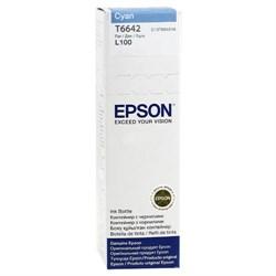(91889) Картридж Epson C13T66424A Cyan L100 - фото 7955