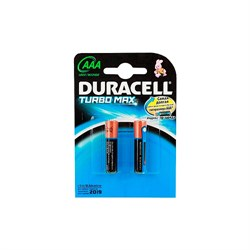 (105826) Батарейка Duracell LR03-2BL TURBO (AAA/ 2 шт. в упаковке) - фото 8013