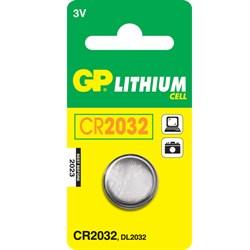 (33946) Батарейка GP lithium 3v CR2032 (1шт.) - фото 8090
