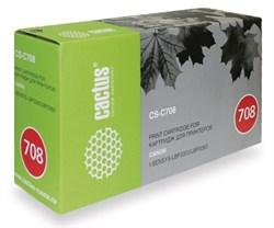 (85335) Тонер-картридж лазерный CACTUS CS-C708 черный для принтеров CANON LBP3300/ LBP3360, 2500 стр. - фото 9477