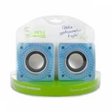 (1004970) Акустическая система Simple S27 Blue, дополнительные динамики, регулировка громкости, USB, S27 Blue