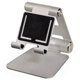 """(1002725) Подставка Hama H-106369 для Apple iPad/планшетных ПК до 10"""" cкладная алюминий серебристый"""