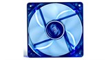 (1004990) Вентилятор корпусной Deepcool WIND BLADE 120 120x120x25 3pin 27dB 1300rpm 119g голубой LED