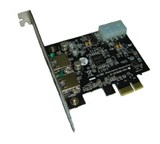 (1005131) Контроллер * PCI-E USB 3.0 2-port NEC D720200F1