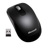 (1005845) Мышь Microsoft Mobile Mouse 1850 черный оптическая (1000dpi) беспроводная USB для ноутбука (2but)