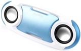 (1005909) Плеер Enzatec SP509BL синий, SD/USB, FM-радио, стерео, Поддерживает все смартфоны, настольные компьютеры и ноутбуки (SP509BL)