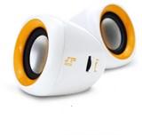 (1005896) Колонки Enzatec SP303OG оранжевые, 2*2W, USB (SP303OG)