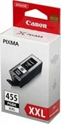 (1006098) Картридж струйный Canon PGI-455XXL 8052B001 черный для Canon Pixma MX924