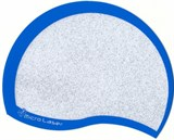 (1006109) Коврик для мыши Micro Laser plus голубой серебристый