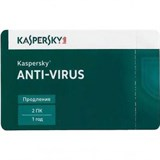 (1006121) ПО Kaspersky Anti-Virus 2016 Russian Edition. 2-Desktop 1 year Renewal Card (KL1167ROBFR)