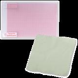"""(1004069) Универсальная защитная пленка для экранов мобильных устройств с диагональю до 11"""". Разметка. В комплекте чистящая салфетка и пластиковая карта. Размеры: 140х246мм, Protector 11"""""""