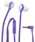 (1006409) Гарнитура вкладыши HP In-Ear H2310 1.5м фиолетовый проводные