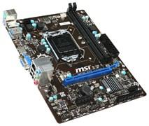 (1002808) Материнская плата MSI H81M-E33 Soc-1150 iH81 DDR3 mATX AC`97 8ch GbLAN SATA3 VGA+HDMI