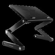 """(1006457) Столик для ноутбука CROWN CMLS-102 ( до 15,6"""", размеры панели (Д*Ш): 38*26см, регулируемая высота до 48см)"""