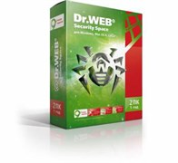 (1006479) ПО DR.Web Security Space 2 ПК/1 год (BHW-B-12M-2-A3)