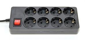 (1006523) Сетевой фильтр 5bites EXTRA SP8-B-50, 8 розеток, 3x0.75mm2, 5м, черный