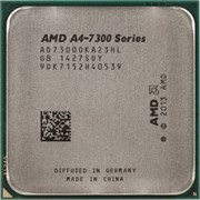(1006553) Процессор AMD A4 7300 FM2 (AD7300OKA23HL) (3.8GHz/5000MHz/1Mb/AMD Radeon HD 8470D) OEM