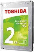 "(1006564) Жесткий диск Toshiba SATA-III 2Tb HDWA120UZSVA E300 Low-Energy (5700rpm) 64Mb 3.5"""
