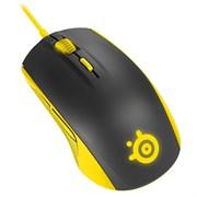 (1006639) Мышь Steelseries Rival 100 Proton желтый/черный оптическая (4000dpi) USB игровая (5but)