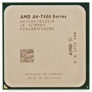 (1006658) Процессор AMD A6 X2 7400K FM2+ (AD740KYBI23JA) (3.5/5000/1Mb/R5) Kaveri OEM