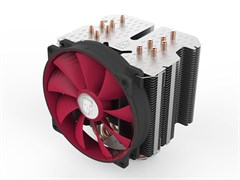 (1006703) Вентилятор Deepcool REDHAT Soc-AMD/1150/1155/1156/2011/ 4pin 12-31dB Al+Cu 250W 1079g винты ultra-si