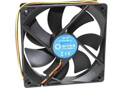 (97610) Вентилятор 5bites F12025B-3 120x120x25мм, подшипник качения, 1200RPM, 25dBa, 3 pin