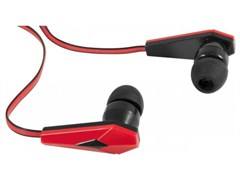 (1006369) DEFENDER Наушники стерео Trendy-704 для MP3, красны&черный, 1,1 м