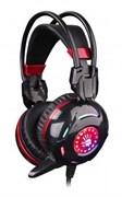(1006803) Наушники с микрофоном A4 Bloody G300 черный/красный (2.2м) мониторы