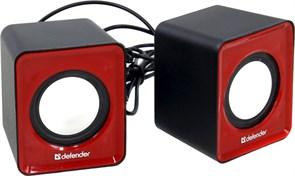 (174457) Колонки Defender SPK 22 красные, 2.0, 5 Вт
