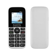 "(167878) Мобильный телефон Alcatel One Touch 1016D SC6531DA, 1.8"", TFT (128x160), Pure White, 400mAh (1016D)"