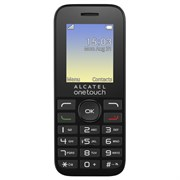"(167879) Мобильный телефон Alcatel One Touch 1016D SC6531DA, 1.8"", TFT (128x160), Volcano Black, 400mAh (1016D)"