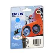 (1006829) Картридж струйный Epson C13T06324A голубой для Epson C67/ C87/ CX3700/ CX4100/ CX4700