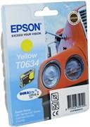 (1006831) Картридж струйный Epson C13T06344A желтый для Epson C67/ C87/ CX3700/ CX4100/ CX4700