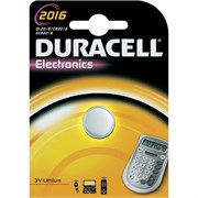 (1006846) Батарея Duracell DL2016 CR2016 (1шт. уп)