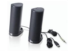 (1006874) Колонки Dell AX210CR USB 2.0 черный портативные