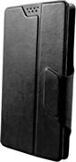 """(1007241) Универсальный чехол-книжка Clever slideUP M для смартфонов  4.4""""- 5.0""""  (иск. кожа, черный)"""