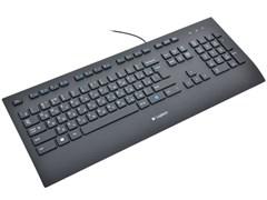 (120630) Клавиатура Logitech K280e Corded Keyboard Black USB (920-005215)