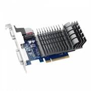 (1006951) Видеокарта Asus PCI-E GT 710-1-SL NV GT710 1024Mb 64b DDR3 954/ 1800 DVIx1/ HDMIx1/ CRTx1/ HDCP Ret low